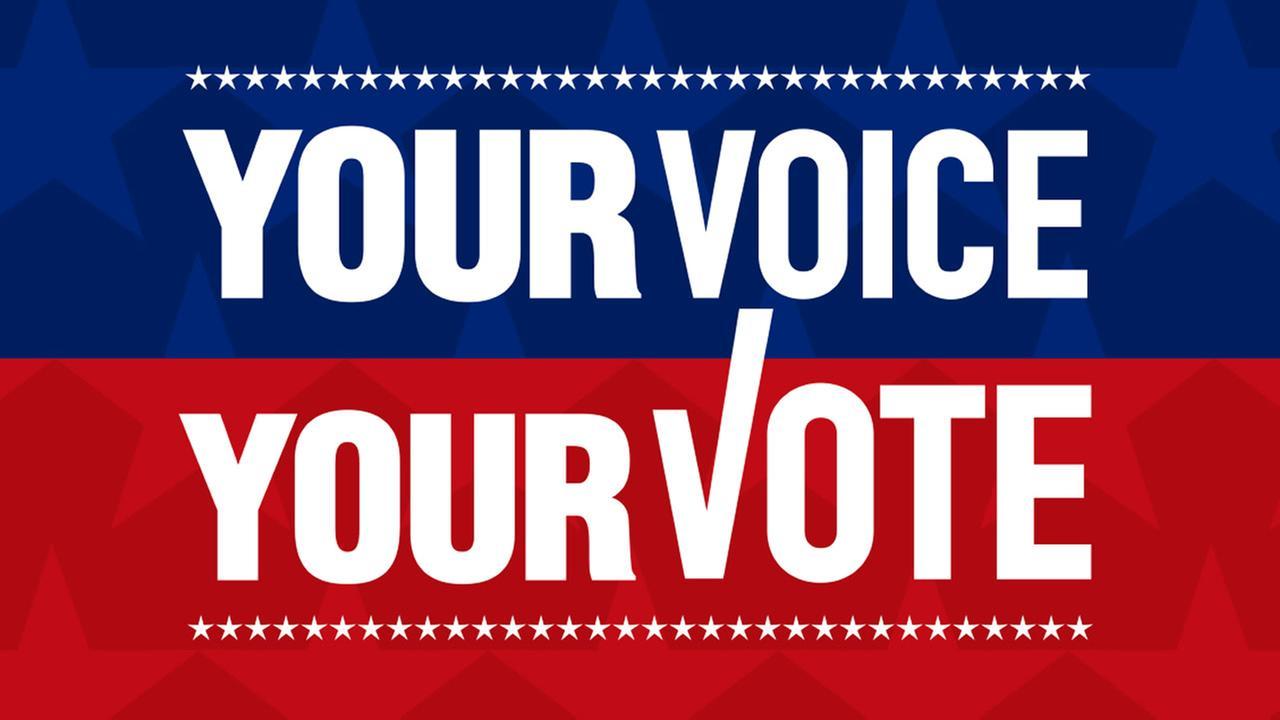 Register to vote to get heard